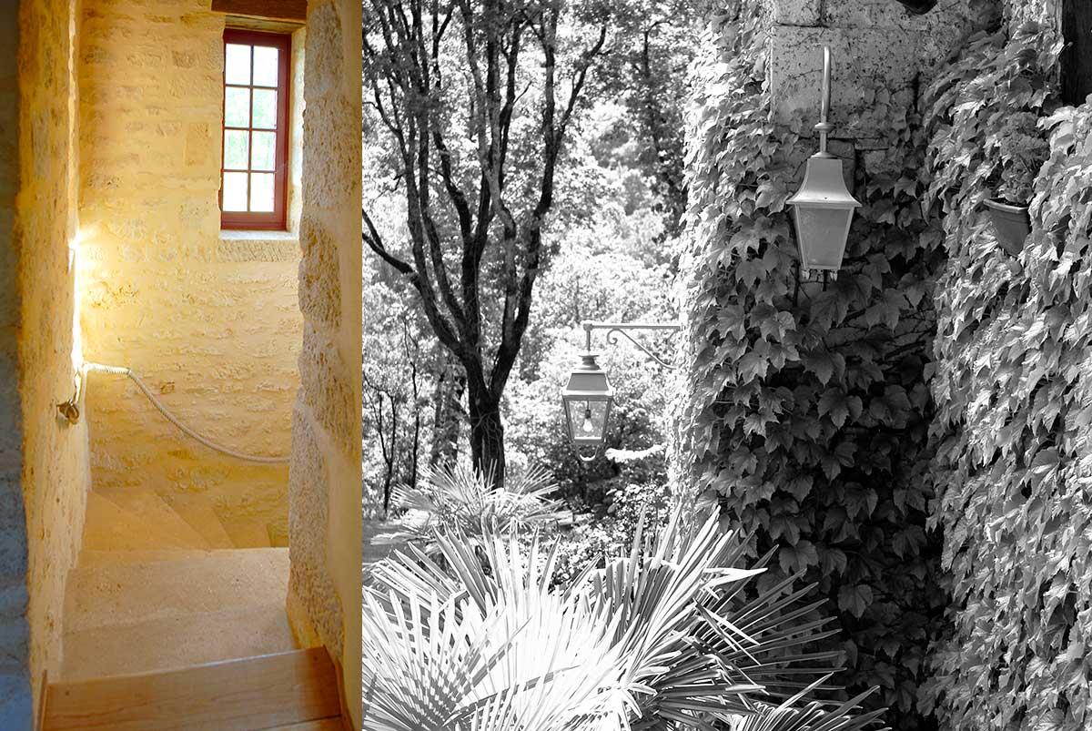 calme, nature et charme dans une location de charme située en dordogne