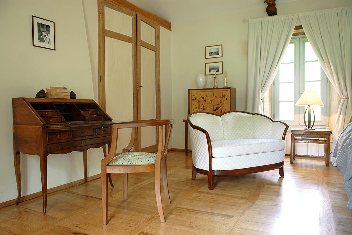 meublé antiquaire dans une maison d'hotes de charme